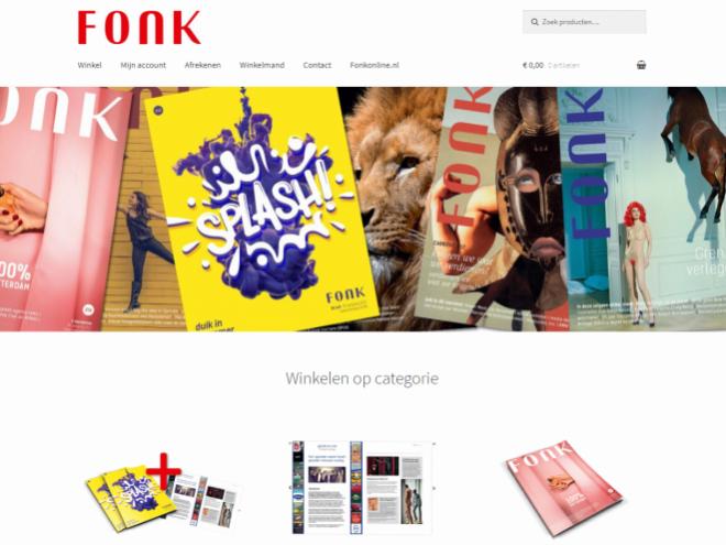 FONKonline webshop FONK magazine